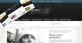 Tema Wordpress Elegante Templates