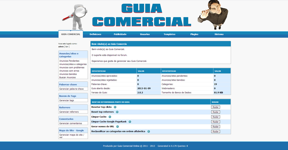 Guia Comercial Classificados 2013