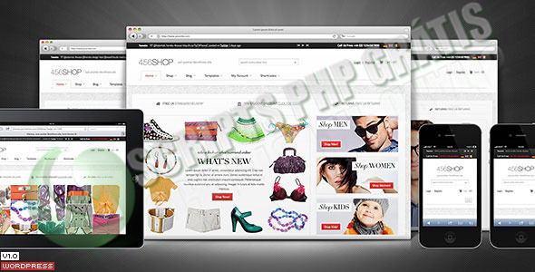 Loja Virtual Template WordPress