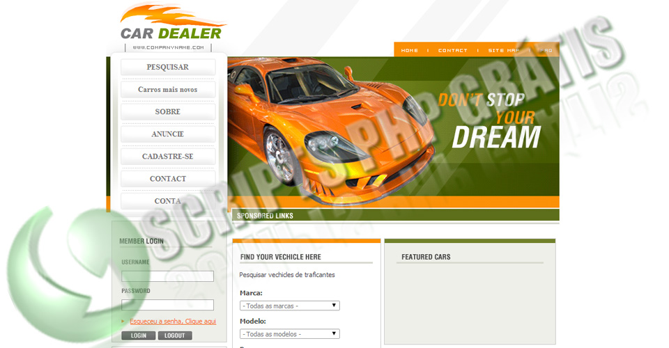 Script Classificados Veículos Built2G0 Car Dealer v1.0.8